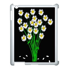 Bouquet Geese Flower Plant Blossom Apple Ipad 3/4 Case (white)