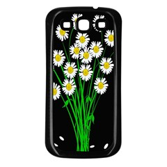 Bouquet Geese Flower Plant Blossom Samsung Galaxy S3 Back Case (black)