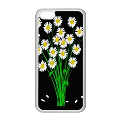 Bouquet Geese Flower Plant Blossom Apple Iphone 5c Seamless Case (white)