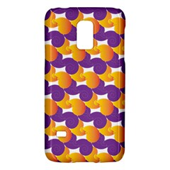 Pattern Background Purple Yellow Galaxy S5 Mini
