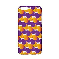 Pattern Background Purple Yellow Apple Iphone 6/6s Hardshell Case