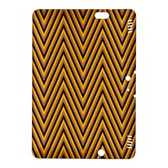 Chevron Brown Retro Vintage Kindle Fire Hdx 8 9  Hardshell Case