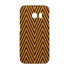 Chevron Brown Retro Vintage Galaxy S6 Edge