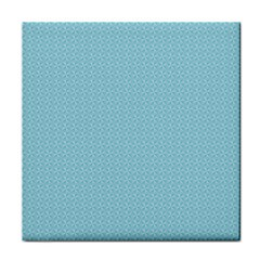 Blue Pattern Background Texture Tile Coasters