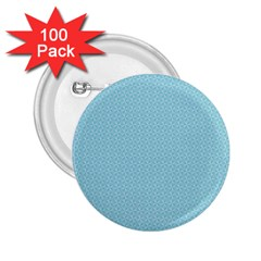 Blue Pattern Background Texture 2 25  Buttons (100 Pack)