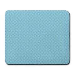 Blue Pattern Background Texture Large Mousepads