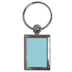 Blue Pattern Background Texture Key Chains (rectangle)