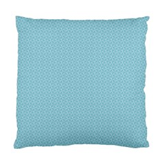 Blue Pattern Background Texture Standard Cushion Case (two Sides)