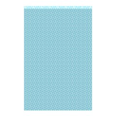 Blue Pattern Background Texture Shower Curtain 48  X 72  (small)