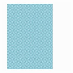 Blue Pattern Background Texture Small Garden Flag (two Sides)