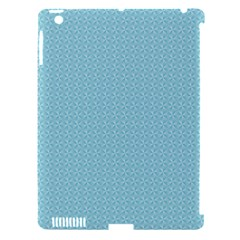Blue Pattern Background Texture Apple Ipad 3/4 Hardshell Case (compatible With Smart Cover)