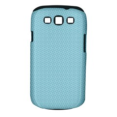 Blue Pattern Background Texture Samsung Galaxy S Iii Classic Hardshell Case (pc+silicone)