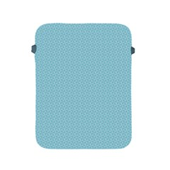 Blue Pattern Background Texture Apple Ipad 2/3/4 Protective Soft Cases