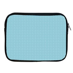 Blue Pattern Background Texture Apple Ipad 2/3/4 Zipper Cases