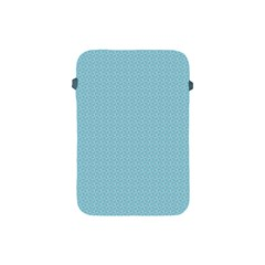 Blue Pattern Background Texture Apple Ipad Mini Protective Soft Cases