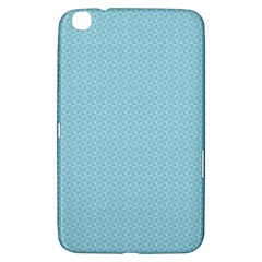Blue Pattern Background Texture Samsung Galaxy Tab 3 (8 ) T3100 Hardshell Case