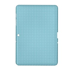 Blue Pattern Background Texture Samsung Galaxy Tab 2 (10 1 ) P5100 Hardshell Case