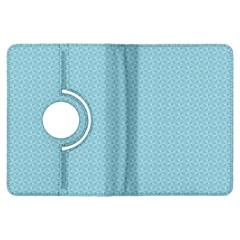 Blue Pattern Background Texture Kindle Fire Hdx Flip 360 Case