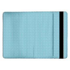 Blue Pattern Background Texture Samsung Galaxy Tab Pro 12 2  Flip Case