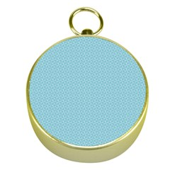 Blue Pattern Background Texture Gold Compasses