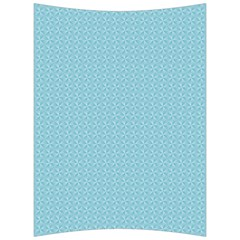 Blue Pattern Background Texture Back Support Cushion