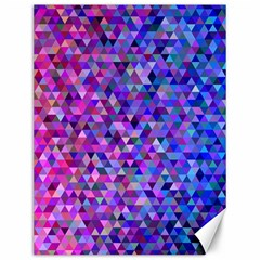 Triangle Tile Mosaic Pattern Canvas 12  X 16