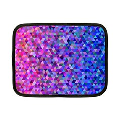 Triangle Tile Mosaic Pattern Netbook Case (small)