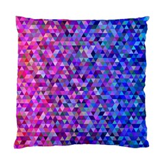 Triangle Tile Mosaic Pattern Standard Cushion Case (two Sides)