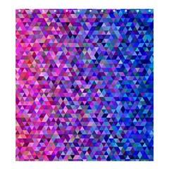 Triangle Tile Mosaic Pattern Shower Curtain 66  X 72  (large)