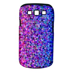 Triangle Tile Mosaic Pattern Samsung Galaxy S Iii Classic Hardshell Case (pc+silicone)