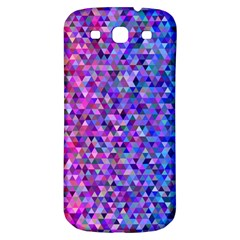 Triangle Tile Mosaic Pattern Samsung Galaxy S3 S Iii Classic Hardshell Back Case