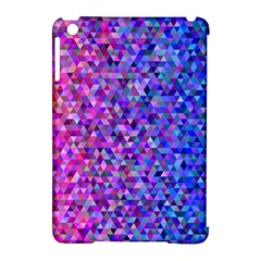 Triangle Tile Mosaic Pattern Apple Ipad Mini Hardshell Case (compatible With Smart Cover)
