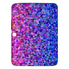 Triangle Tile Mosaic Pattern Samsung Galaxy Tab 3 (10 1 ) P5200 Hardshell Case