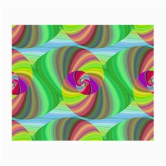 Seamless Pattern Twirl Spiral Small Glasses Cloth