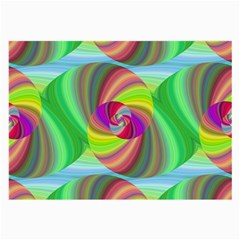Seamless Pattern Twirl Spiral Large Glasses Cloth