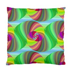 Seamless Pattern Twirl Spiral Standard Cushion Case (two Sides)