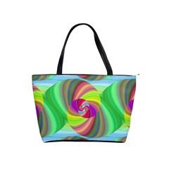 Seamless Pattern Twirl Spiral Shoulder Handbags