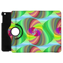 Seamless Pattern Twirl Spiral Apple Ipad Mini Flip 360 Case