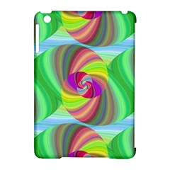 Seamless Pattern Twirl Spiral Apple Ipad Mini Hardshell Case (compatible With Smart Cover)