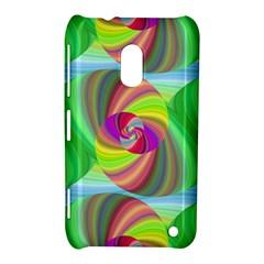 Seamless Pattern Twirl Spiral Nokia Lumia 620