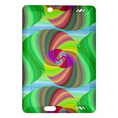Seamless Pattern Twirl Spiral Amazon Kindle Fire Hd (2013) Hardshell Case