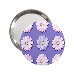 Daisy Flowers Wild Flowers Bloom 2 25  Handbag Mirrors