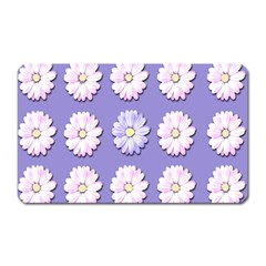 Daisy Flowers Wild Flowers Bloom Magnet (rectangular)