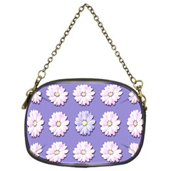 Daisy Flowers Wild Flowers Bloom Chain Purses (one Side)
