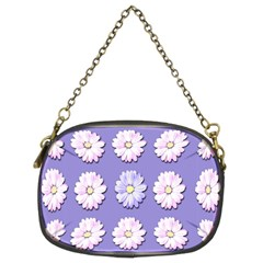 Daisy Flowers Wild Flowers Bloom Chain Purses (two Sides)