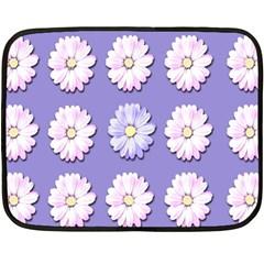 Daisy Flowers Wild Flowers Bloom Fleece Blanket (mini)