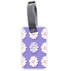 Daisy Flowers Wild Flowers Bloom Luggage Tags (two Sides)