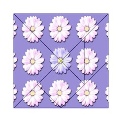 Daisy Flowers Wild Flowers Bloom Acrylic Tangram Puzzle (6  X 6 )