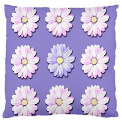Daisy Flowers Wild Flowers Bloom Large Cushion Case (one Side)