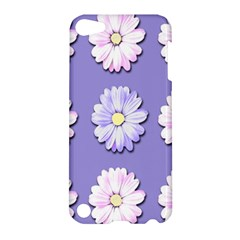 Daisy Flowers Wild Flowers Bloom Apple Ipod Touch 5 Hardshell Case